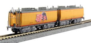 Kato (USA) 106-085 Union Pacific Water Tender Set (2)